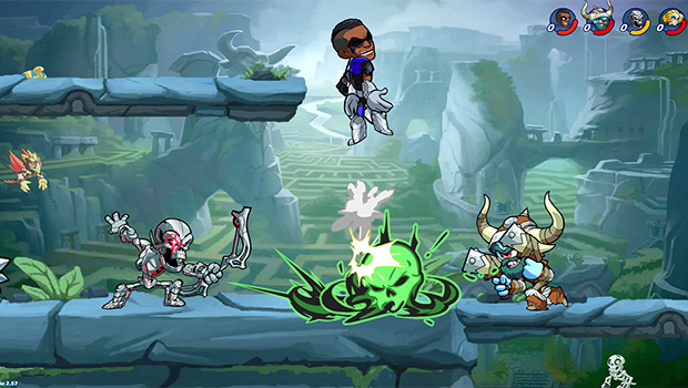 Brawlhalla Will Be Cross Play Compatible On PS4 and PC!! – Fighting